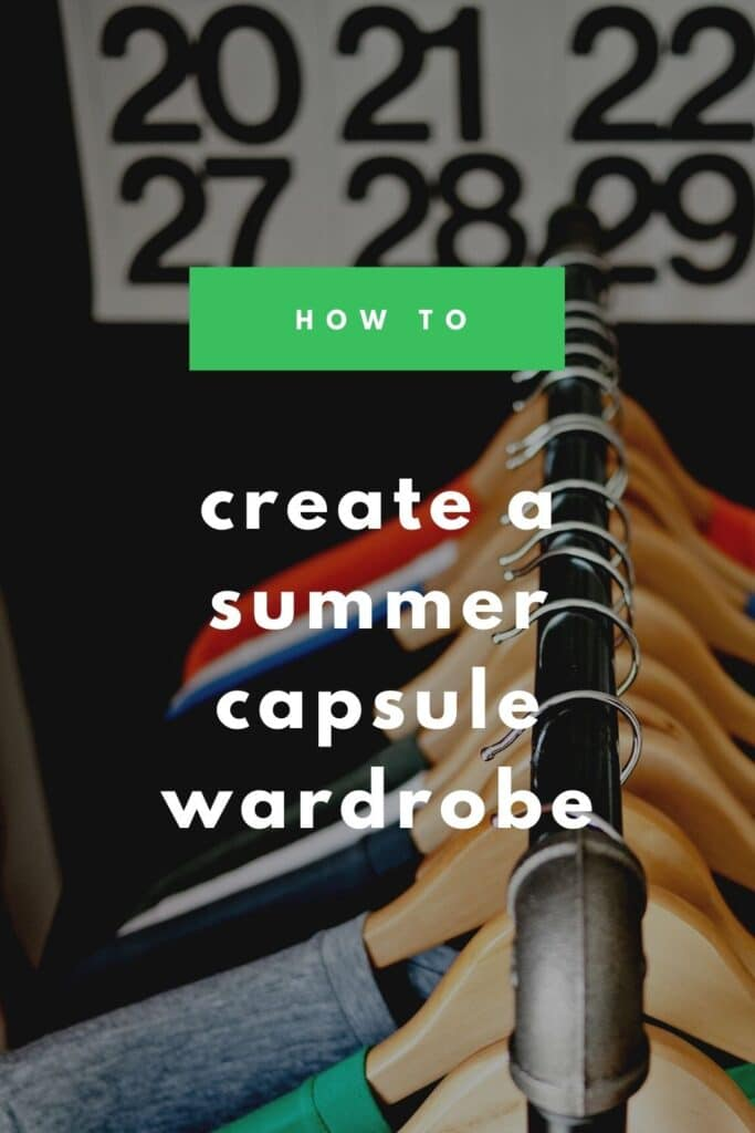 Alaskan Blogger, Kiss My Tulle shares some solid and affordable summer capsule wardrobe pieces perfect for a stay-at-home mom.